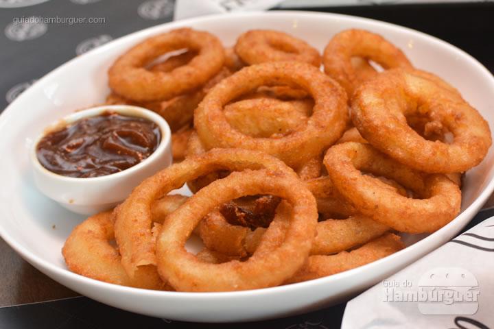 Porção de onion rings - Five Burger