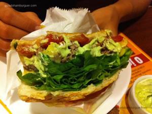 Cheese salada com maionese a parte - Chip`s Burger (Santana)