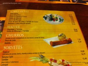 Cardápio - Chip`s Burger (Santana)