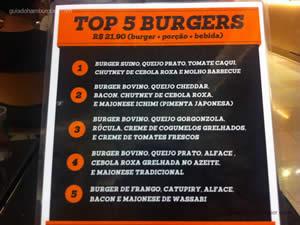 Cardápio - Burger Lab