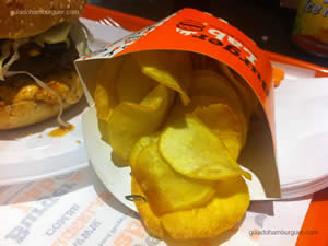 Chips misto - Burger Lab