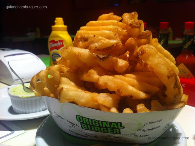 Waffle Fries - Original Burger