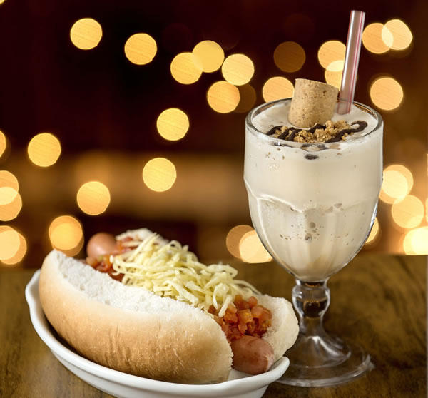Milk Shake de Paçoca: harmoniza com hot dog - General Prime Burger