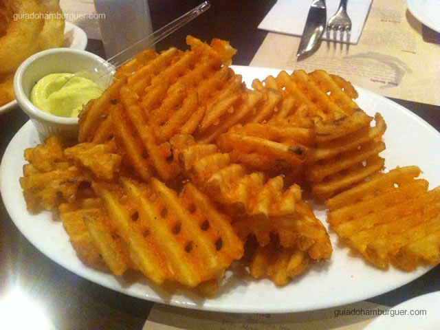 Waffle Fries - General Prime Burger