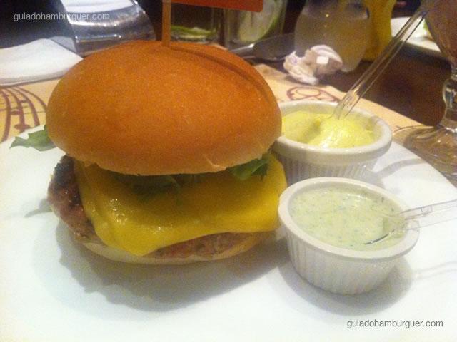 Hambúrguer de cordeiro - General Prime Burger