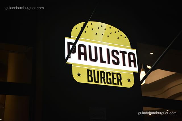 Letreiro luminoso em detalhe - Paulista Burger