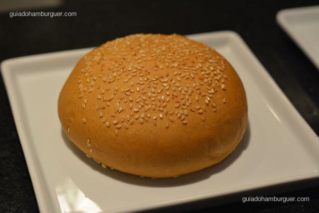 Pão de Hambúrguer com gergelim - Paulista Burger