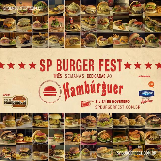 Banner - SP Burger Fest 3ª edição