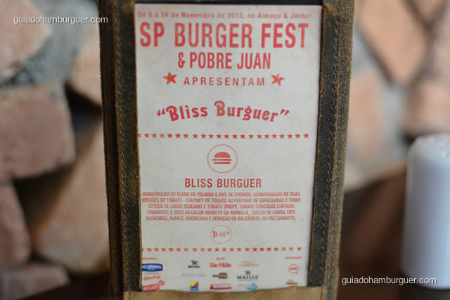 Receita do hambúrguer do SP Burger Fest - Pobre Juan