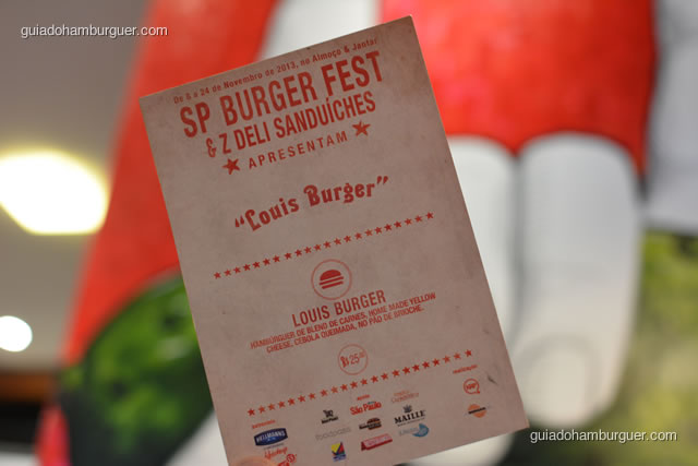 Louis Burger, receita do SP Burger Fest 3ª edição - Z Deli Sanduíches