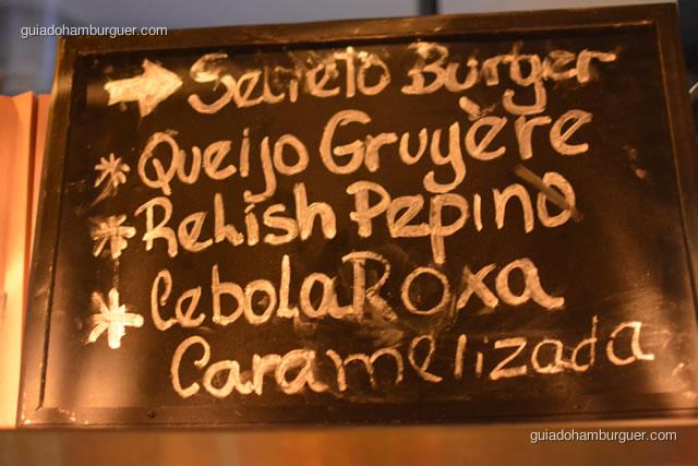 Secreto Burger receita original - Chez Burger