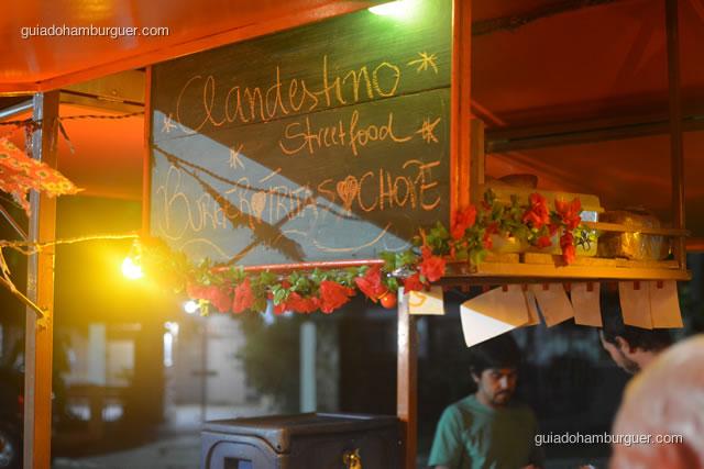 Clandestino Streetfood - Burger, Fritas e Chope