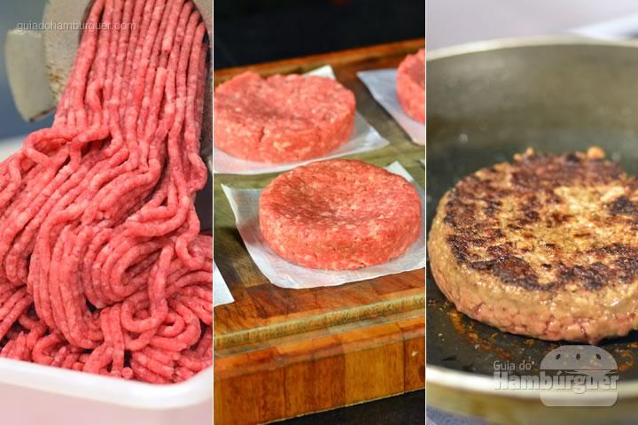 Receita hamburguer perfeito caseiro e profissional