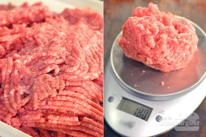 Hambúrguer de 180g  - Receita hamburguer perfeito caseiro e profissional