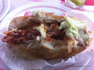 cheese burguer (x burger) especial com bacon e maionese a parte - Hamburguinho
