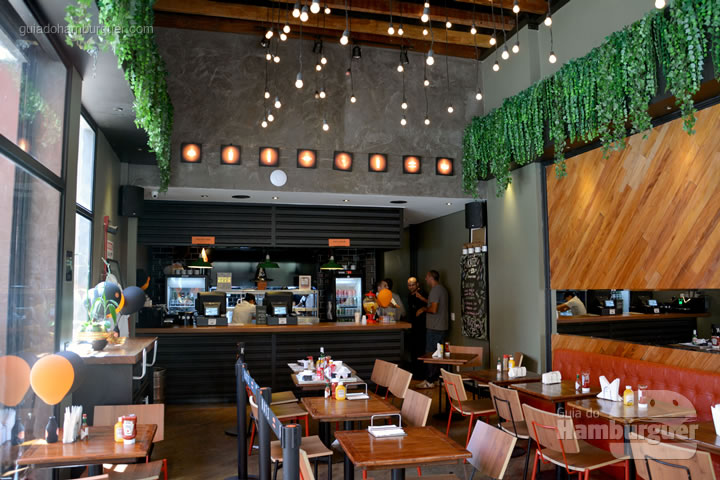 Ambiente e decoração - Katz Burger House