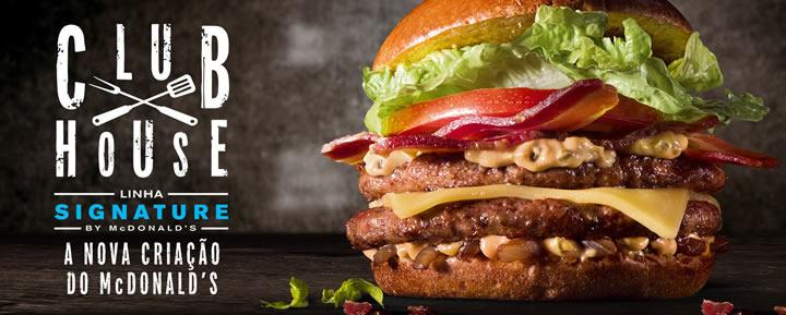 Club House, primeiro hambúrguer da linha premium Signature