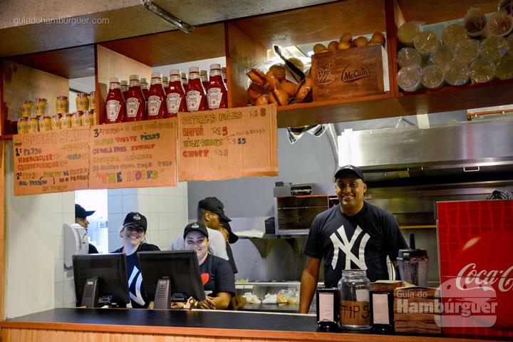 Atendimento - Burger Joint São Paulo