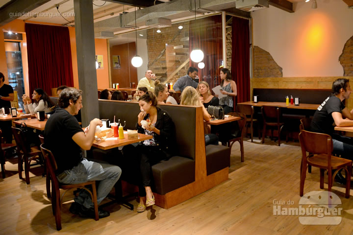 Ambiente - Burger Joint São Paulo