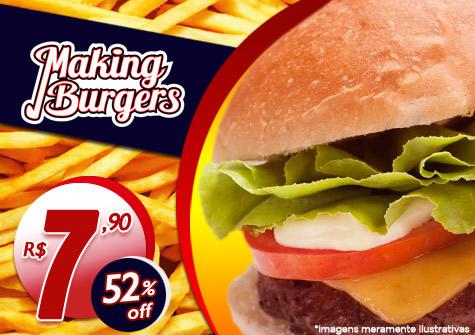Cupom de desconto para o Making Burgers