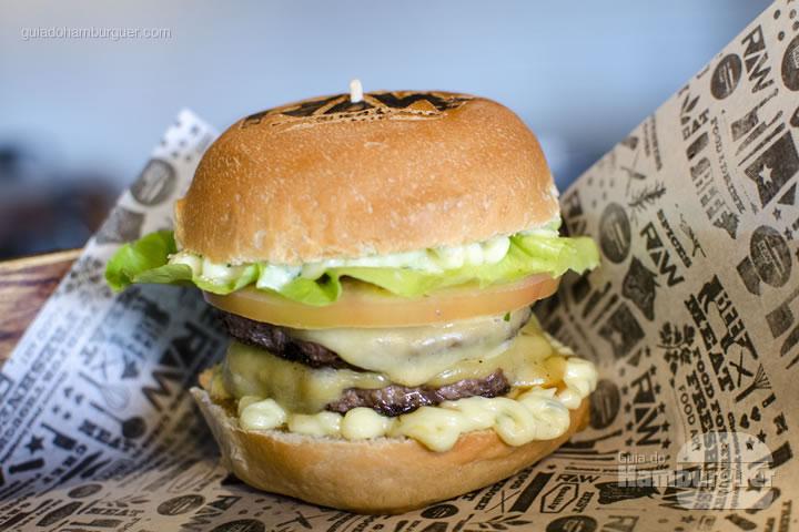 Raw Salad Burger - Raw Burger'n'Bar