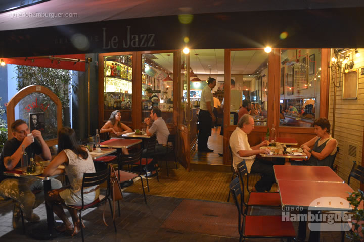 Fachada - Le Jazz Brasserie
