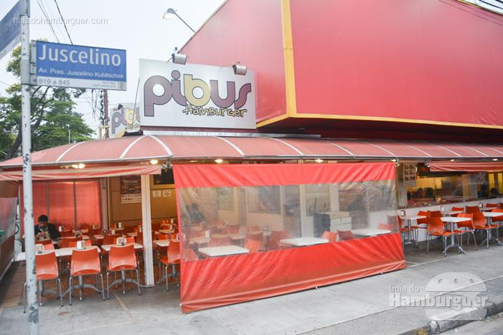 Fachada - Pibus Hamburger Itaim