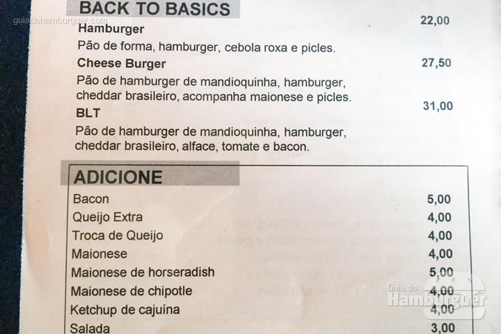 Hambúrgueres básicos - Meats