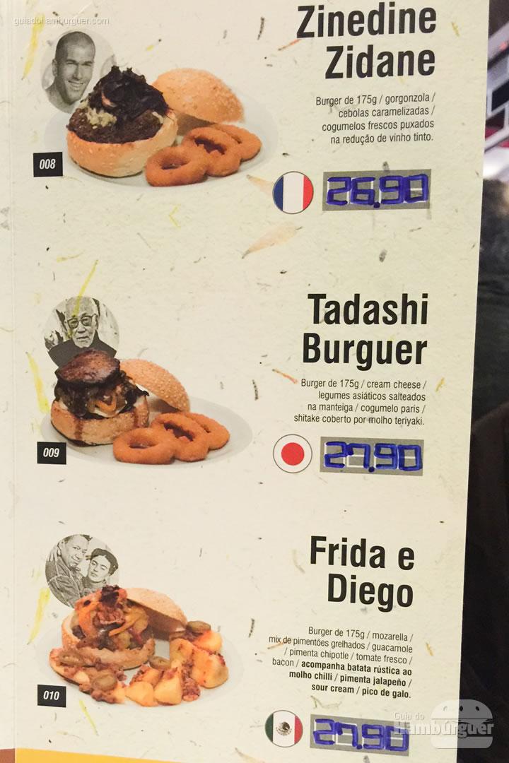 Cardápio - Cidadão do Mundo Burger & Arts