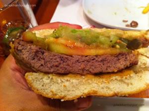 Break (cheeseburger salada de 150g acompanhado de batatas fritas) - America