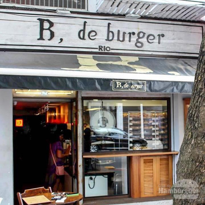 Fachada - B, de Burger por Lelê Gianetti