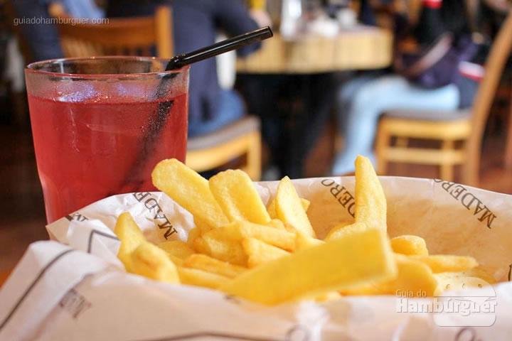 Porção de fritas - Madero por Lelê Gianetti