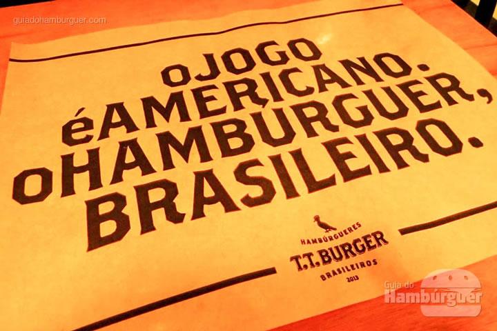 Jogo americano - T.T. Burger por Lelê Gianetti