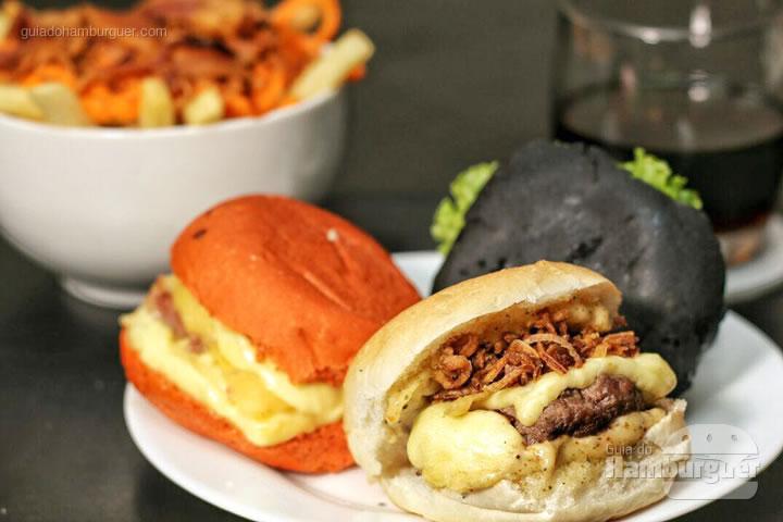 E mais essa rodada para fechar a noite - Rodízio de hambúrguer na Hamburgueria Artesanal