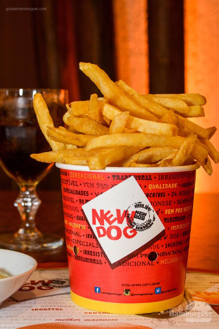 Porção de fritas - New Dog no Burger Fest