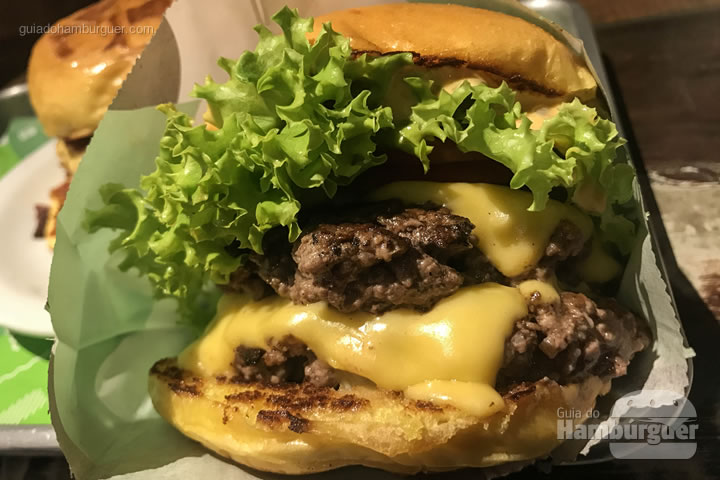 Cabana Burger duplo - Cabana Burger