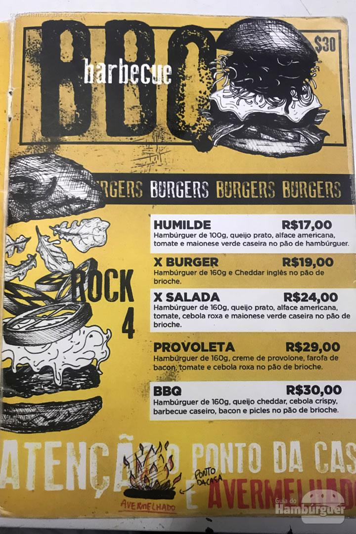 Cardápio - Come On Burger