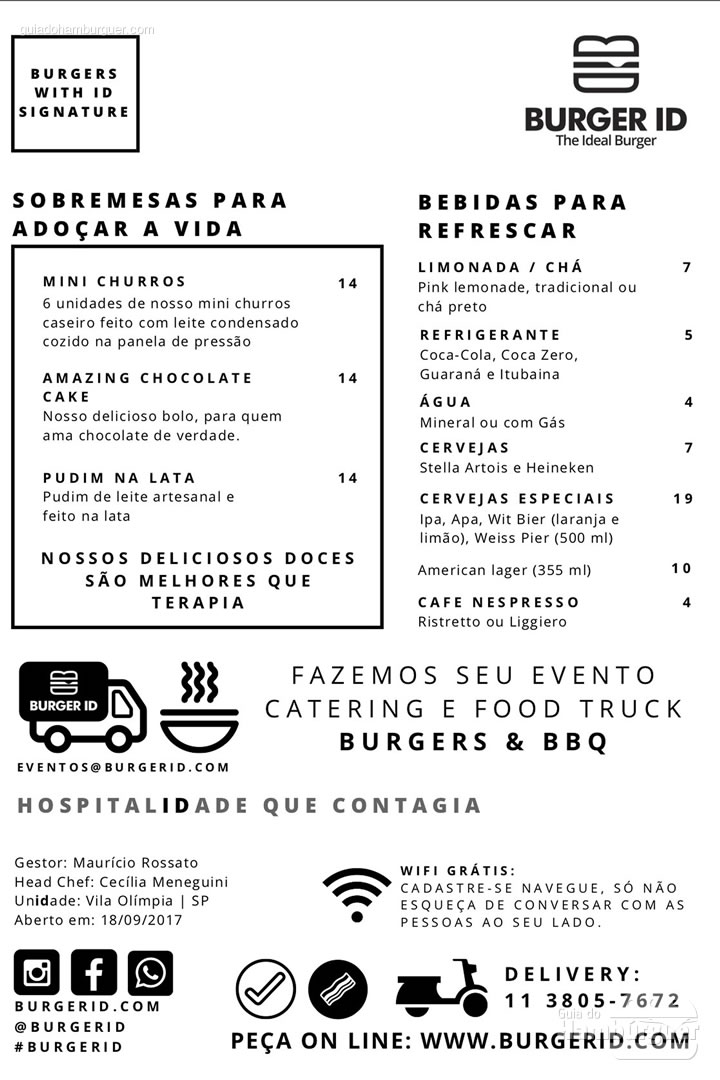 Cardápio - Burger ID