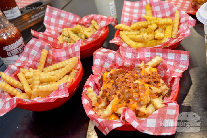 Porções de fritas - Burger ID