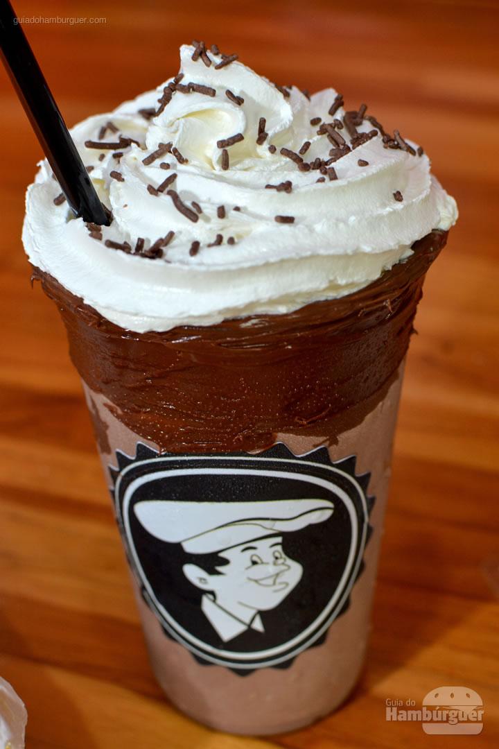 Milkshake de Nutella - Hamburguinho Moema