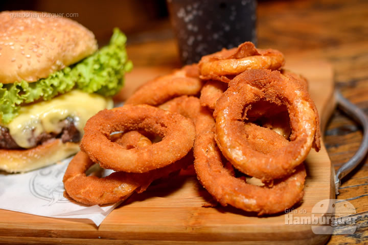 Onion rings - Stage Burger