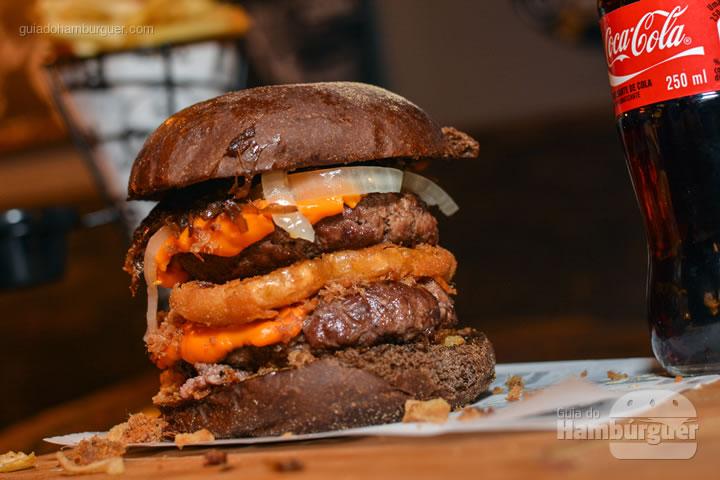 Hambúrguer pronto - Stage Burger