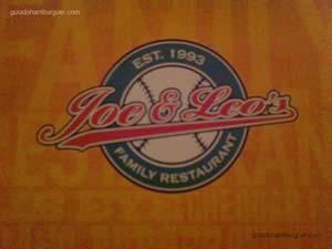 Cardápio - Joe & Leo's