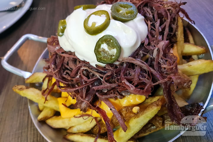 Pastrami fries - ALL IN . burger Itaim