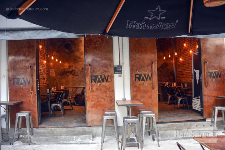 Fachada - Raw Street Burger