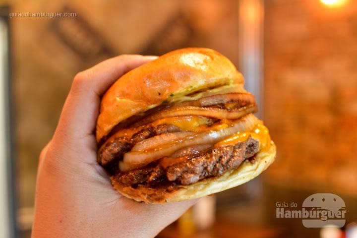 Hora de mandar pra dentro - Raw Street Burger