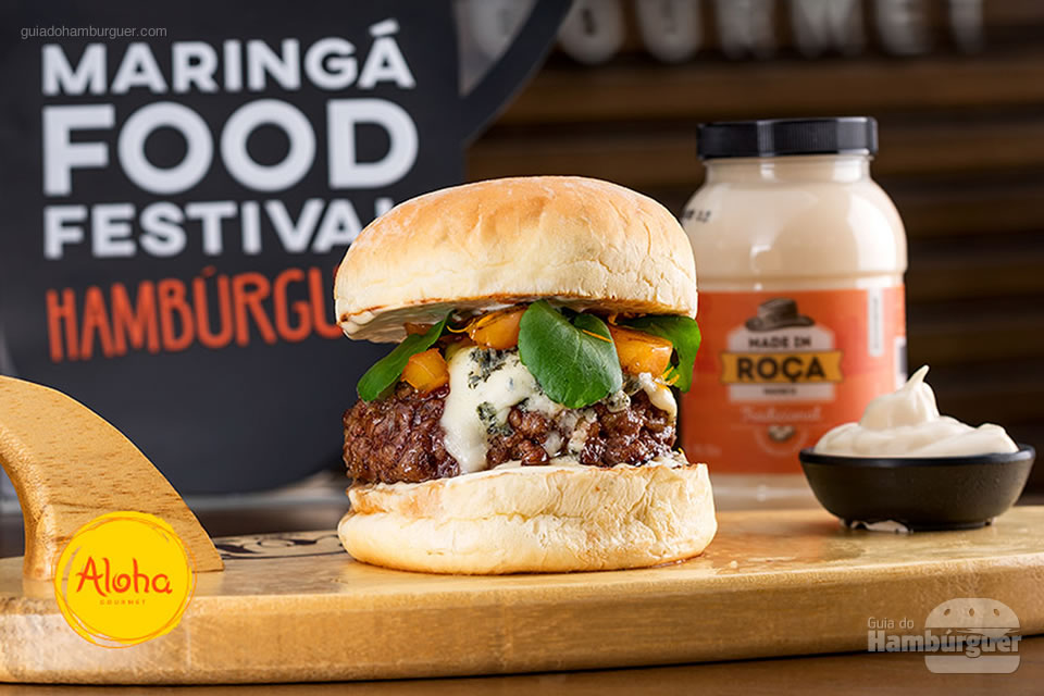 5º Aloha - As 10 melhores hamburguerias do Maringá food festival eleitas pelo público