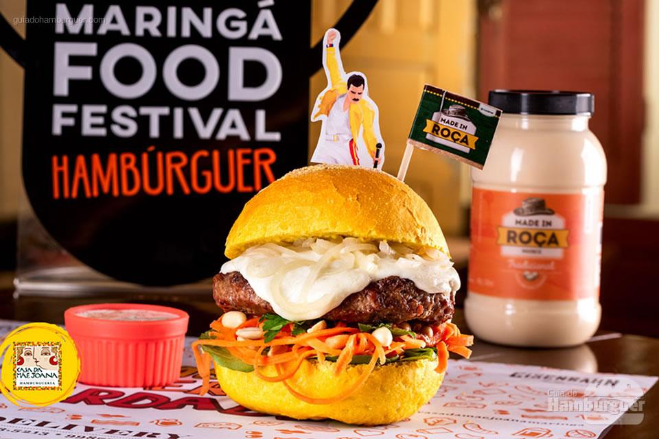 1º Casa da Mãe Joana - As 10 melhores hamburguerias do Maringá food festival eleitas pelo público