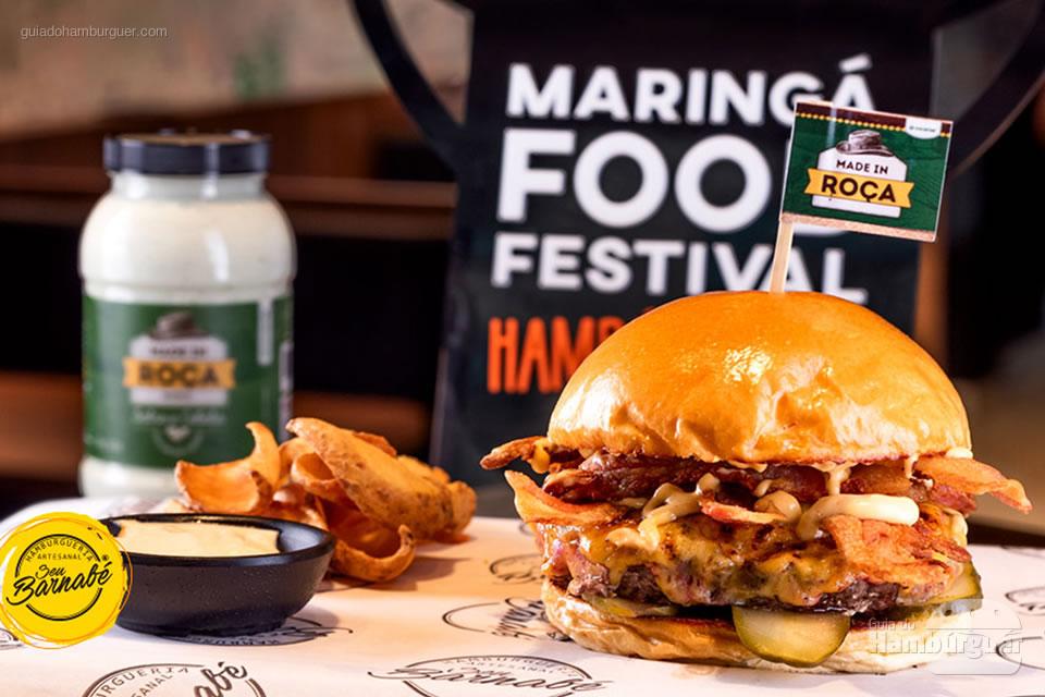 3º Seu Barnabé - As 10 melhores hamburguerias do Maringá food festival eleitas pelo público