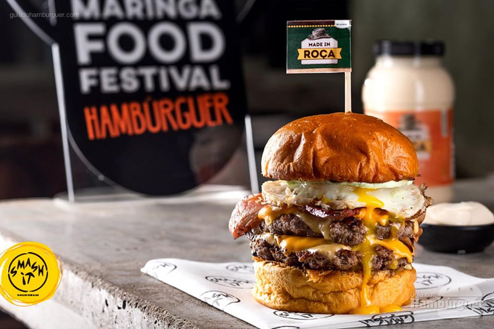 7º Smash It - As 10 melhores hamburguerias do Maringá food festival eleitas pelo público
